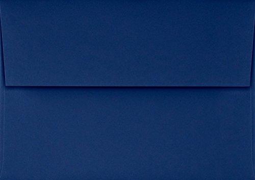 A1 Invitation Envelopes w/Peel & Press (3 5/8 x 5 1/8) - Navy Blue (50 Qty.)
