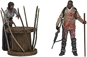 Mcfarlane Toys AMC The Walking Dead Morgan With Impaled Walker /& Spike Trap