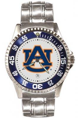Auburn Tigers Suntime Competitor Steel Mens NCAA Watch (Competitor Steel Tigers Watch)