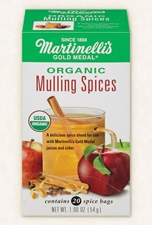 Martinelli's Gold Medal Organic Mulling Spices, 20 Bags Per Box (6 Boxes) by Martinelli's