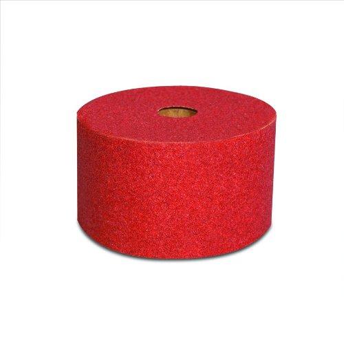 3M 01682 Stikit Red 2-3/4'' x 25 Yard P320 Grit Abrasive Sheet Roll (Pack of 6)
