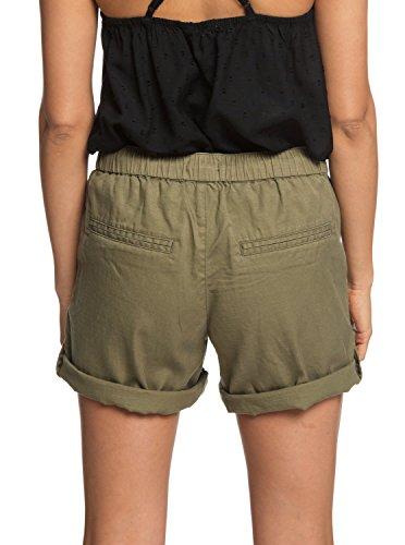Roxy Womens Love at Two - Beach Shorts - Women - M - Green Burnt Olive M by Roxy (Image #3)