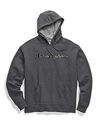 Champion Mens Graphic Powerblend Fleece Hood Sweatshirt