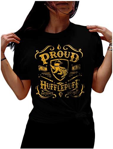 LeRage Huffle Wizard Shirt Solemnly Swear Up to no Good Gift Tshirt Unisex 2XL
