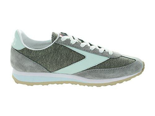 Brooks Vanguard Women Round Toe Synthetic Running Shoe Grey/Whispering Blue