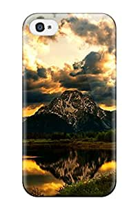 New Design Shatterproof YFhRhJV1638ZOPFn Case For Iphone 4/4s (dark Clouds Are Hanging)