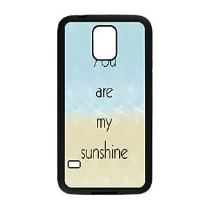 diy samsung galaxy s5 i9600 Case, you are my sunshine HARD Case for samsung galaxy s5 i9600 at Jipic (style 4)
