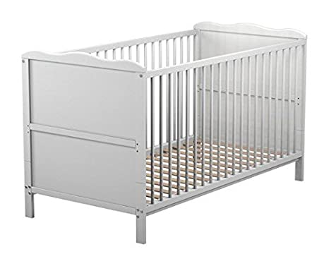 Mother Nurture - Cot Bed (White) First For Babies BF091