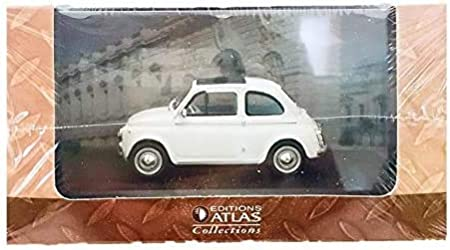 Fiat 750 Multipla Abarth 1960 furgoneta 1:43 Diecast Coche Atlas