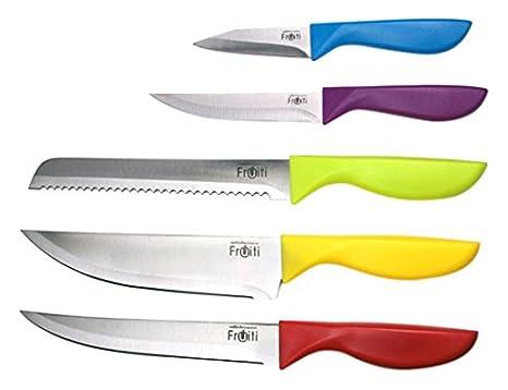 Amazon.com: Sabichi Essential – Juego de 6 cuchillos de ...