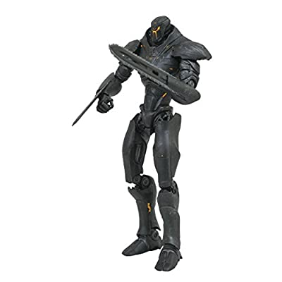 DIAMOND SELECT TOYS Pacific Rim Uprising: Obsidian Fury Select Action Figure: Toys & Games