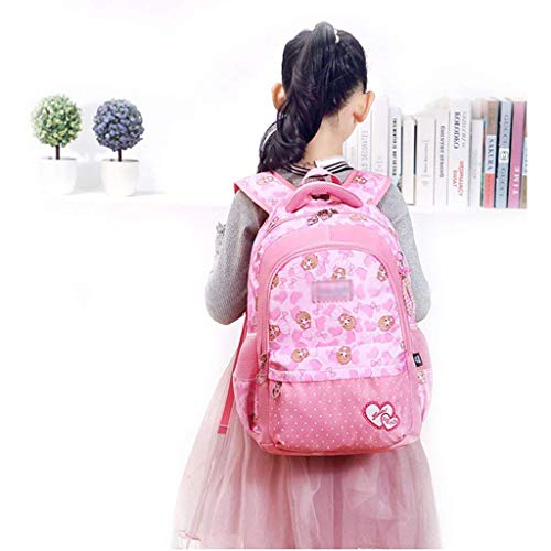 Bag E Optional color Multi Light Large Ultra layer Girl multi Princess Cute Backpack Capacity Student color waqIZZ