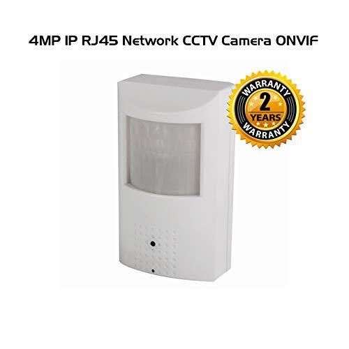 Ares Vision 4 MP IP Network Hidden Covert Alarm Sensor CCTV Camera w/Night Vision(RJ45) (4MP (2560×1440))