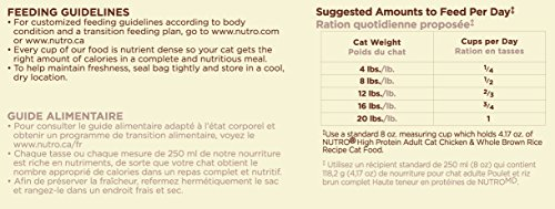 The nutro company high protein adult food with chicken and whole the nutro company high protein adult food with chicken and whole brown rice recipe for finicky felines 3 pound amazon pet supplies forumfinder Image collections