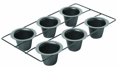 Chicago Metallic Non Stick 6-Cup Popover Pan by CHICAGO METALLIC