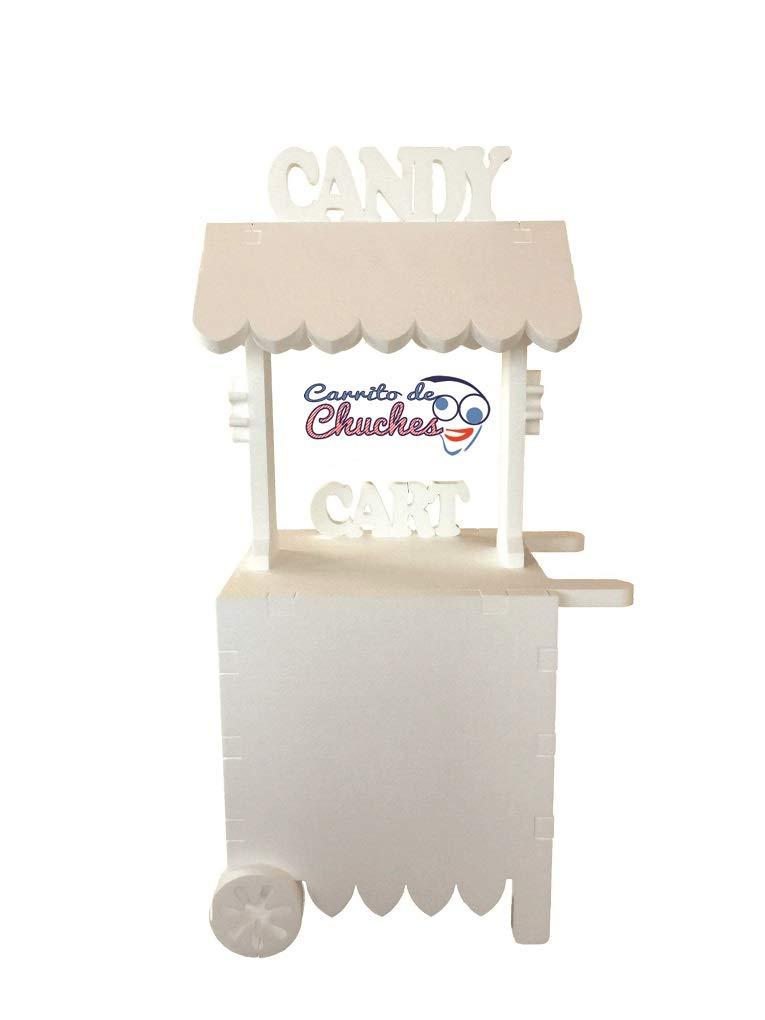 CARRITO DE CHUCHES.CANDY CART. Para decorar. Medidas 132cmsx56cmsx47cms.: Amazon.es: Juguetes y juegos