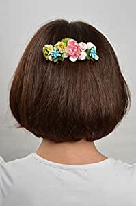 Handmade Hair Accessories Floral Hair Comb Hair Decorations Gifts For Girls
