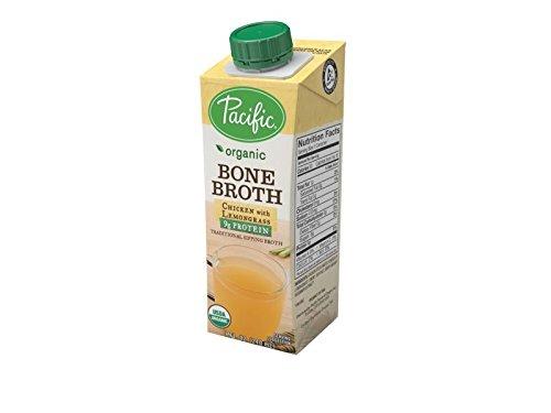 Organic Bone Broth, Chicken with Lemongrass by Pacific Foods, (Lemongrass Chicken)