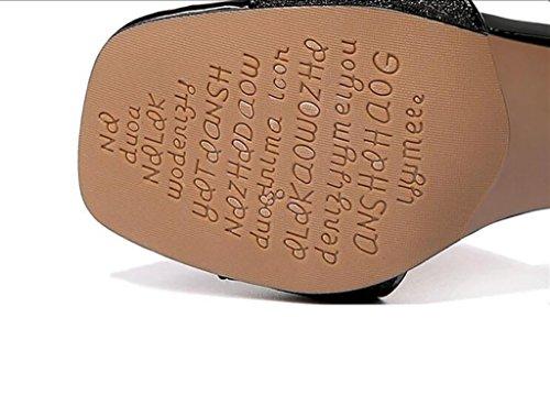 Flat A Sandals Sandals Size High Sandals Sauvages Chaussures color Avec Wild À A Sandales With Thick Summer Ms Coréenne Taille 38 A Korean fashion 38 A couleur Mode De Sandals Shoes D'épaisseur Heel Sandales Sandales Plates D'été Sandales Hauts Des Ms Talons Des 7rqO7wTU