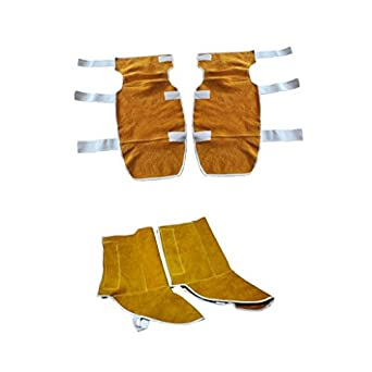 Jili Online Protective Knee Pads Welding Gear Safety Shoes Cover Adjustable Orange: Amazon.com: Industrial & Scientific
