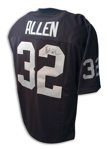 Signed Marcus Allen Jersey - Oakland Hologram - Autographed NFL Jerseys