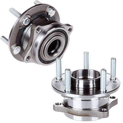 Hyundai Wheel Bearing - cciyu 513266 Wheel Hub and Bearing Assembly Replacement for fit Hyundai Santa Fe Veracruz Kia Sorrent Front Wheel Hubs 5 Lugs (2)