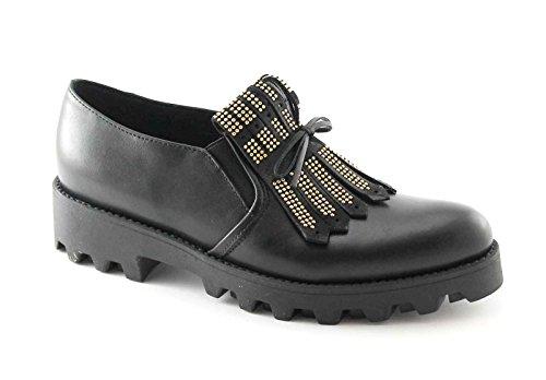 Divine Follie - Zapatos de cordones para mujer negro negro