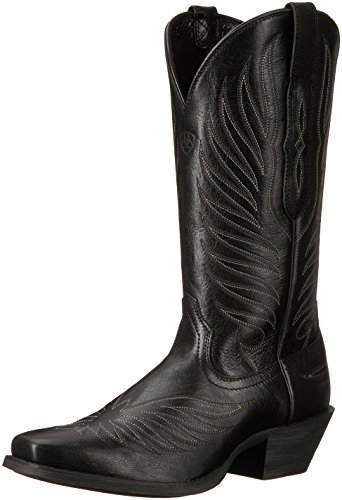 Ariat Women's Round up Phoenix Work Boot, Old Black, 8.5 B US Athletic Round Toe Work Boots