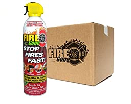 Max-Pro Fire Gone Fire Suppressants - 16oz Units (Case of 12)