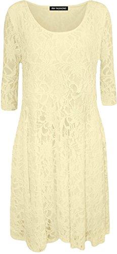 Cremefarben Fashions Damen Islander Cocktail Kleid w6IWPq0
