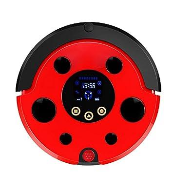 JJYJQR Robot Aspirador Robot Aspirador Smart Planned Cleaning Para Home Office Sweep Wet Mop App Control, Rojo: Amazon.es: Hogar