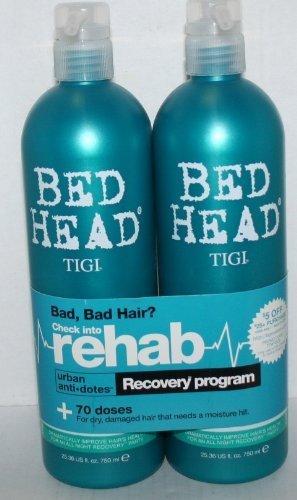 TIGI Bed Head Urban Anti-Dotes RECOVERY Shampoo and Conditioner Duo 750 ml each by TIGI