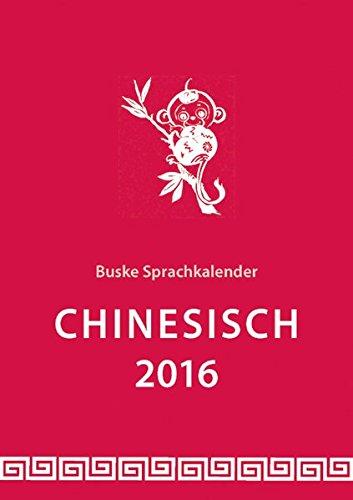 Sprachkalender Chinesisch 2016
