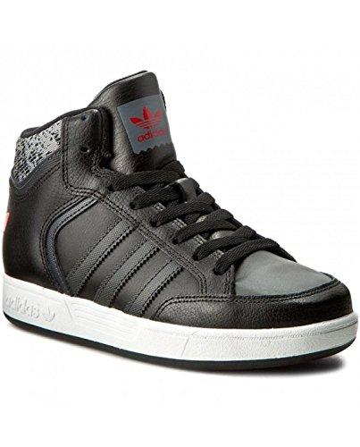 adidas VARIAL MID J - Zapatillas deportivas para Niño, Negro - (NEGBAS/GRPUDG/ESCARL) 33.5