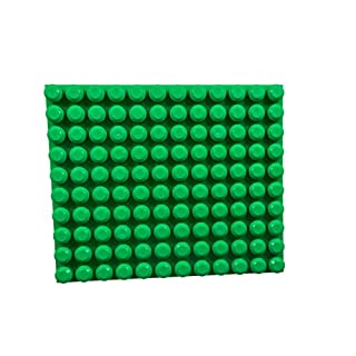 "Strictly Briks Beginner Briks Baseplate 12.5"" x 15"" 100% Compatible with Mega Bloks First Builder Blocks 