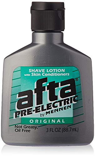 Afta Pre-Electric Shave Lotion With Skin Conditioners Original 3 oz (12 Pack)
