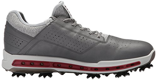 Ecco Mens Cool 18 Gore-tex Scarpa Da Golf Dark Shadow / Nero Trasparente