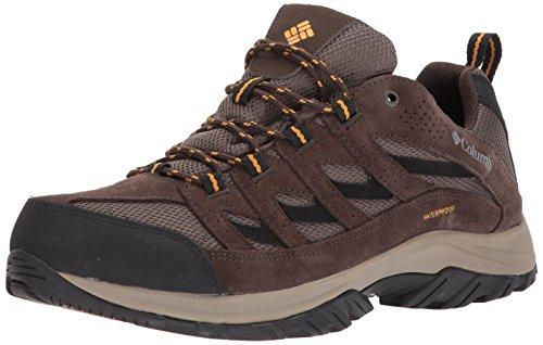 (Columbia Men's CRESTWOOD WATERPROOF Hiking Boot, Mud, Squash, 11 Regular US )