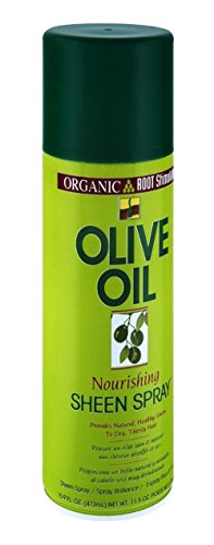 Organic Root Stimulator Olive Oil Nourishing Sheen Spray 11.