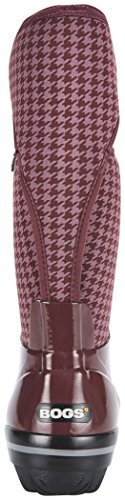 Bottes Plimsoll Houndstooth Femme Bogs Pour Tall Lilas dtgWwWnqA