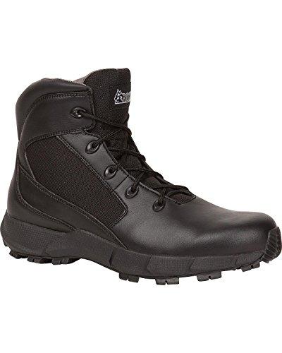 "UPC 883802581652, Rocky Men's Broadhead 6"" Duty Boot Black 9 EE US"