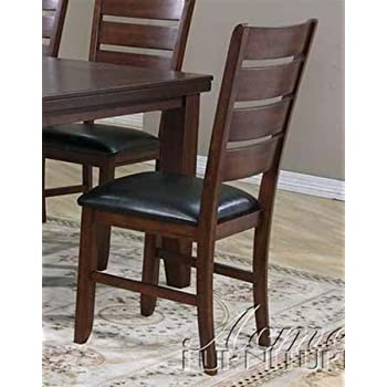 Amazon Com Acme Furniture Set Of 2 Dining Chairs In