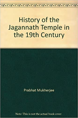History of the Jagannath Temple in the 19th Century