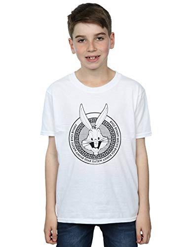 Garçon Blanc Bugs Circle T Cult Looney shirt Greek Bunny Absolute Tunes AwtSxR