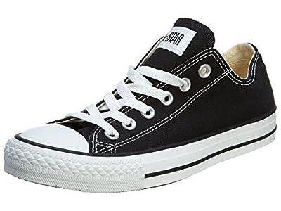 Converse Unisex Chuck Taylor All Star Low Basketball Shoe (40 M EU/9 B(M) US Women/7 D(M) US Men, Black)