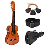 30'' Sunset Wood Guitar with Case for Kids/Girls/Boys/Beginners