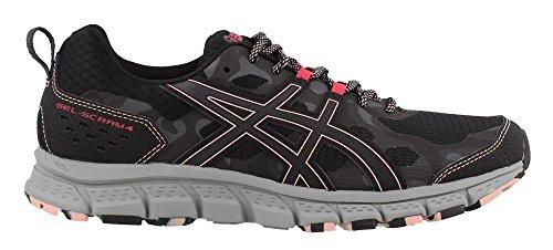 Us 10 dark Running 1012a039 scram 4 Grey Women's Asics Shoe B Gel m Black p8qTxO