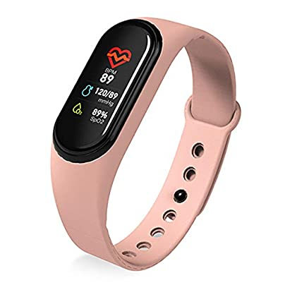 DMMDHR New Smart Band Wristband Watch Fitness Tracker Bracelet Color Touch Sport Heart Rate Blood Pressure Monitor Men Women Android Estimated Price £63.60 -