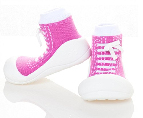 Attipas Sneakers Purple AS02 Lauflernschuhe Mädchen EU 20 Violett