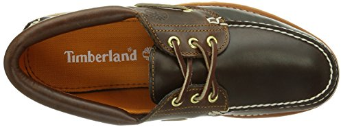 Timberland Authentics TFO Classic 3 Eye Lug - Mocasines para hombre Marrón (Brown)